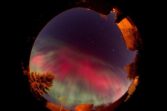 Un étrange phénomène observé dans le ciel de Côte-d'Or Aurore28oct6